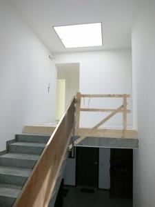 Oberste Etage mit neuer RWA